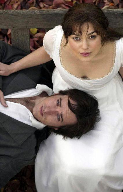 Matthew Macfadyen (Mr. Fitzwilliam Darcy) & Keira Knightley (Elizabeth Bennet) - Pride & Prejudice (2005) #janeausten #joewright