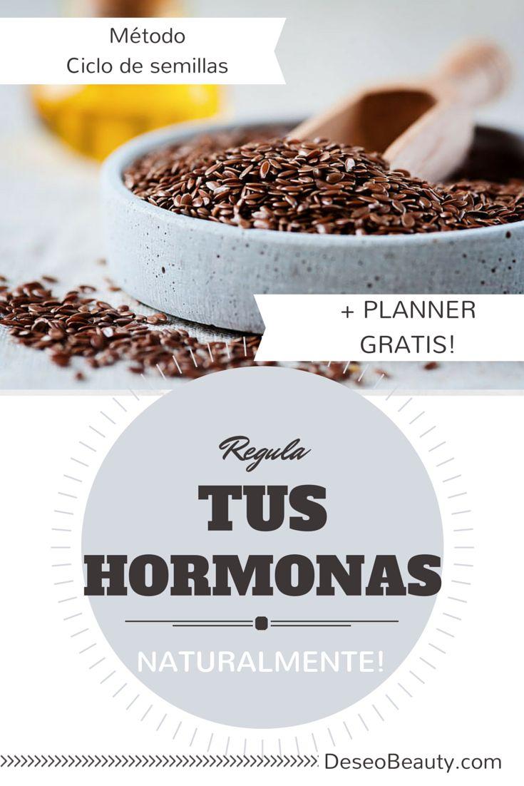 Cómo controlar las hormonas naturalmente + Ficha gratis!