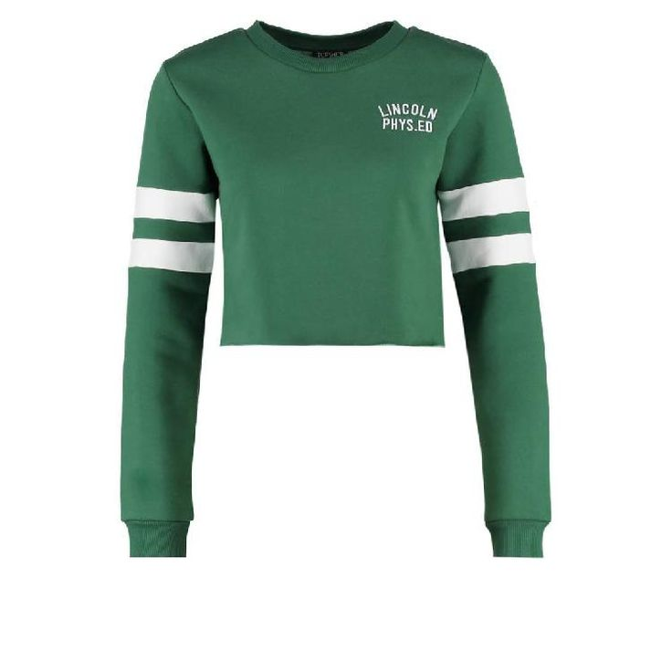 Sweatshirt - green by Topshop