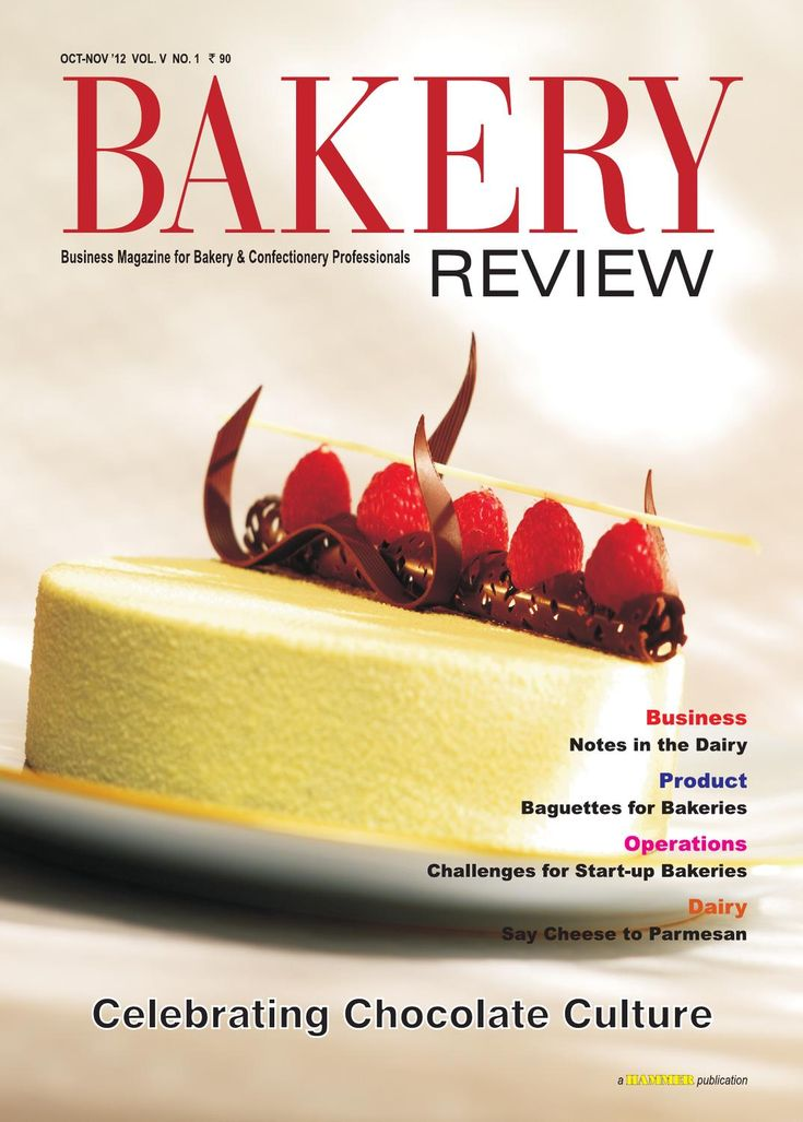 Bakery Review  Oct-Nov 2012 ( The Magazine for Bakery & Confectionery Professionals)