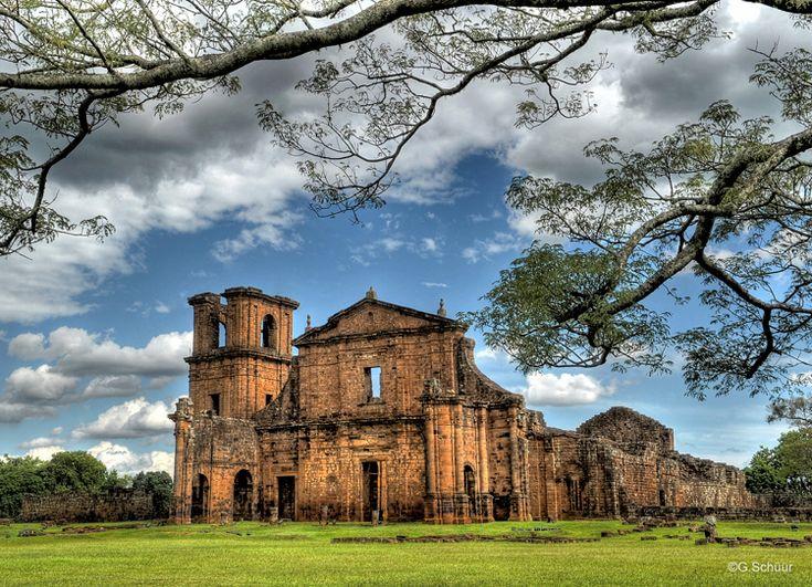 Ruínas das Missões Jesuíticas de São Miguel, RS