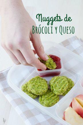 Nuggets de Queso y Brócoli- Una forma nueva, divertida y deliciosa de tomar brocoli para toda la familia