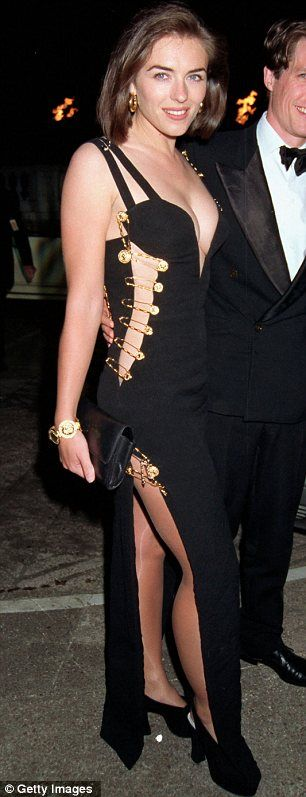 That Dress: If ever one dress can be said to be responsible for fame and career, it is Liz Hurley's 1994 Versace safety pin dress