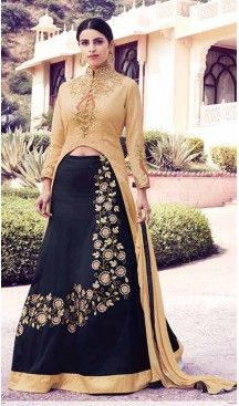 Achkan Style Georgette Fabric Party Salwar Suit in Beige Color   FH520078961 #heenastyle , #boutique , #pakistani, #salwar , #kameez , #suit , #dresses , #styles , #fashion , #clothing , #henna , #designs , #mehndi , #more , @heenastyle , #party , #online