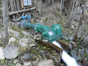 Water-Powered-Cross-Flow-Turbine-Generator-low-head-micro-hydro