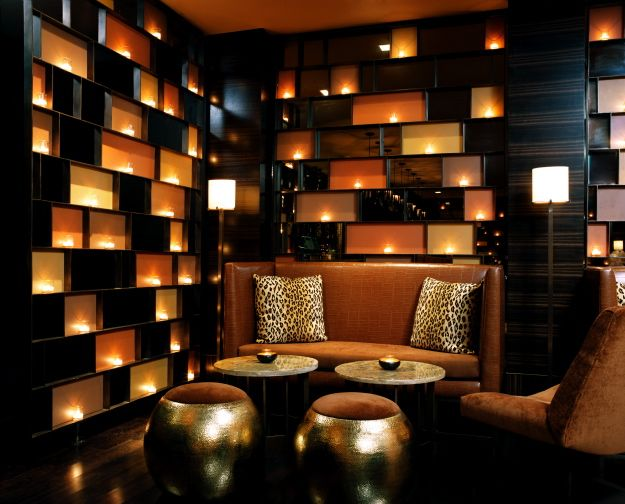 Feature wall, modern, dark and sleek