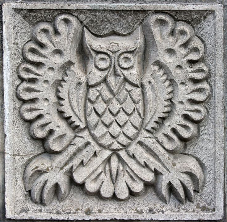11799800-old-bas-relief-of-fairytale-fantasy-owl-on-the-wall-Stock-Photo.jpg (1300×1271)