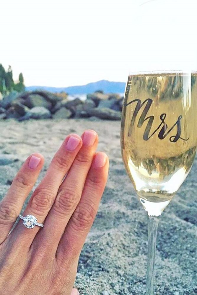 TOP Engagement and Wedding Ideas Part 4 ❤ See more: http://www.weddingforward.com/wedding-ideas-part-4/ #wedding #ideas #engagement #rings
