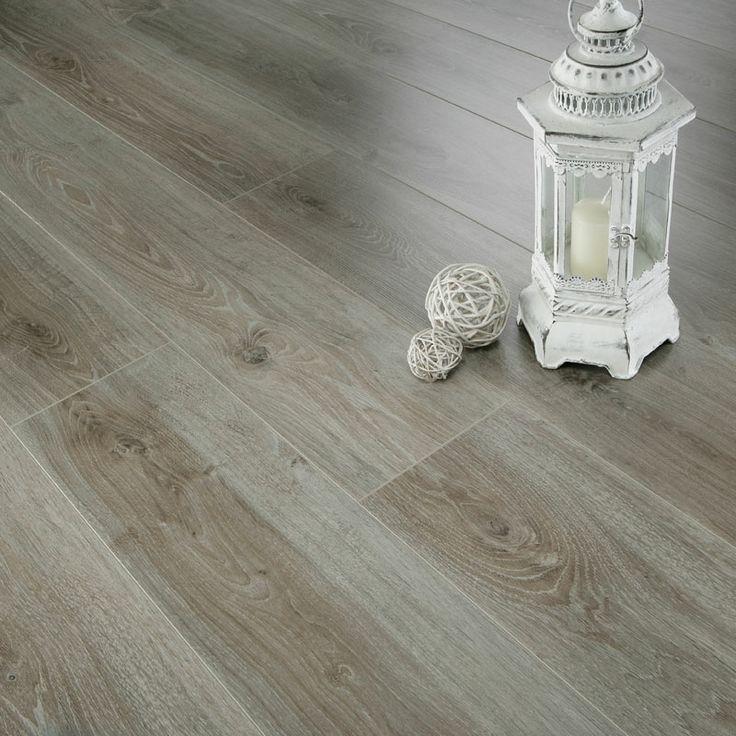 images of laminate flooring   Series Woods 7mm Grey Oak V Groove Laminate Flooring - Laminate range