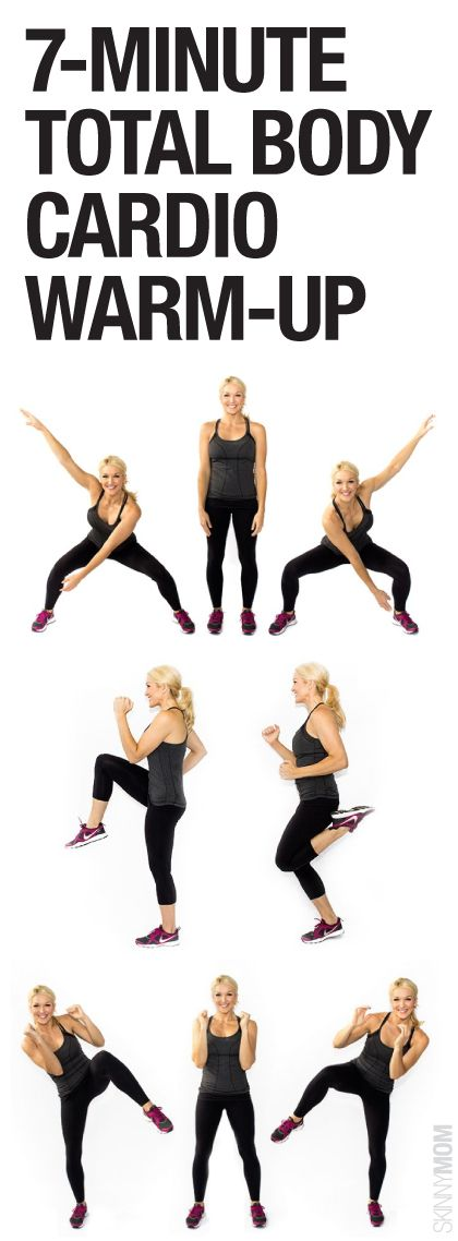 Get your heart pumping with this cardio workout!
