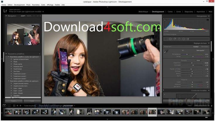 """Adobe Photoshop Lightroom CC 6.12 Free Download Latest Version Setup in direct link for 32Bit and 64Bit operating systems. """"Adobe Photoshop Lightroom CC 6.12"""" is complete offline installer standalone setup for Windows..."""