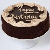 """Chocolate Fudge Birthday Cake - 10"""""""