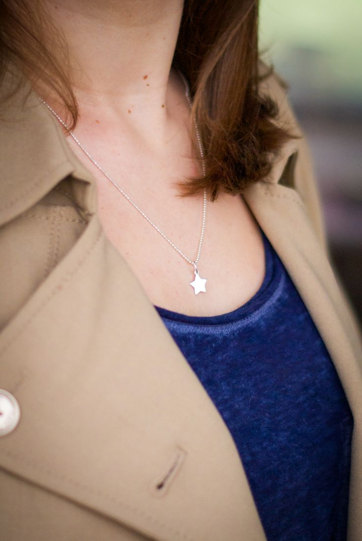 Star Necklace Silver by Mocca Loca