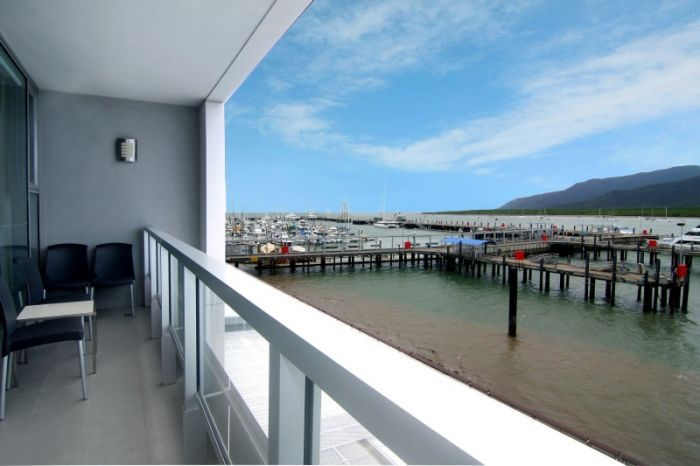 Harbour Lights in Cairns - Privately Managed. Located on the sought after Cairns Marina waterfront. Modern elegant apartments, fully self-contained in a resort with swimming pool, sauna, secure parking (fees apply) and on-site restaurants and shopping. Call Us 1300 731 620