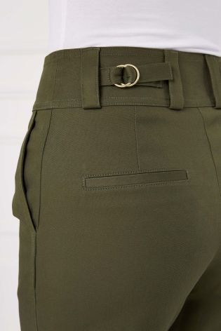 Buy Khaki Utility Pocket Wide Leg Trousers from the Next UK online shop