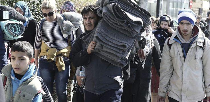 Las nuevas restricciones afectan a todo el recorrido de los refugiados hasta Alemania y dejan a Grecia casi bloqueada