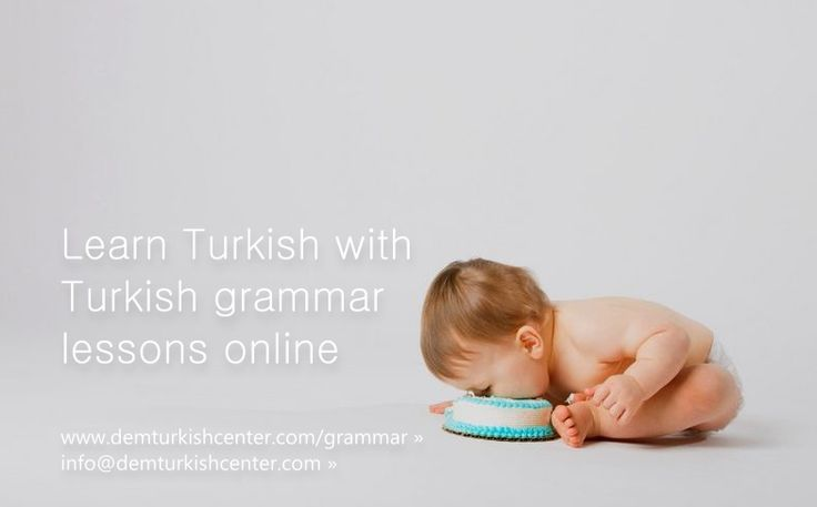 Learn Turkish grammar online via Skype with Dem Turkish Center. Take online Turkish grammar classes or Turkish grammar questions & answers.