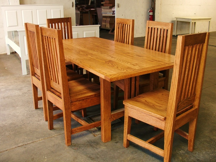 Kitchen Table Set By Thomas A. Johnson Of Thomas A. Johnson Furniture  Company