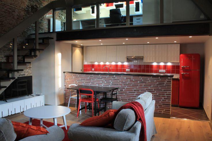 Rénovation d'un appartement, NANTES by Eugénie G. (chez DG STUDIO, Bouguenais)