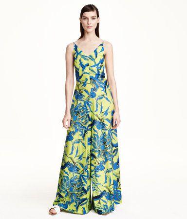 H&M Jumpsuit in a silk blend £49.99