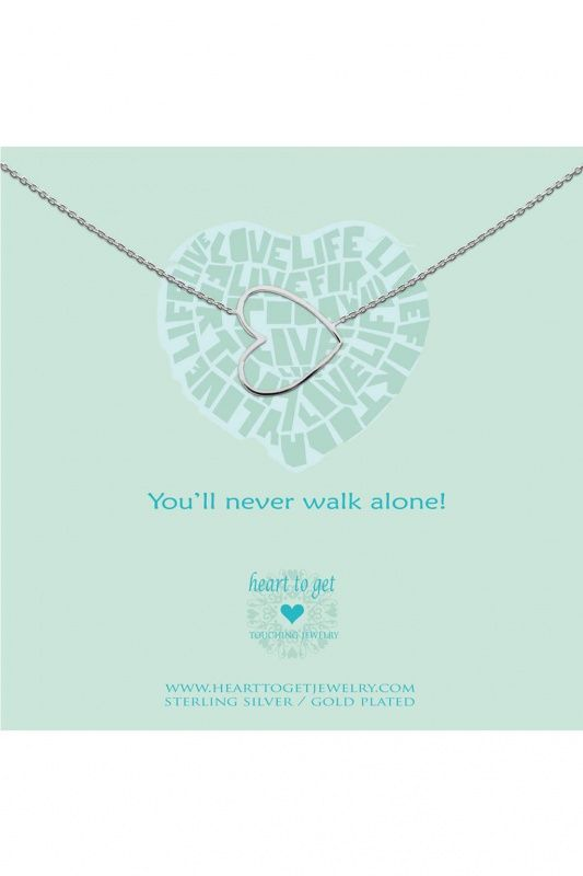 N35BHE12S - Heart to Get ketting Heart