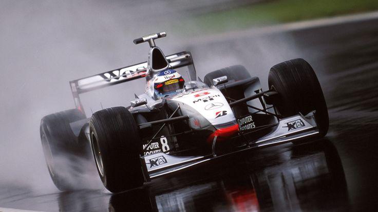 One of the all time greats. Mika Hakkinen, #McLaren MP4-13 #Monza 1998.