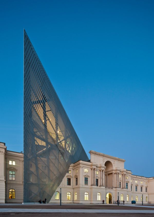 193 best old and new juxtaposition images on pinterest for Daniel libeskind architectural style