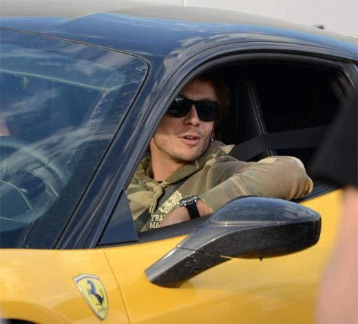 Valentino Rossi, what to drive? an Italian brand 'car' or, work of art, the same.