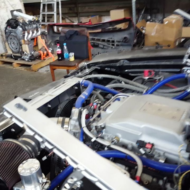 Gm Ls3 Engine Uk: Video Clip Of 70 Chevelle #BecauseSS LS3 LSA LS Swap With