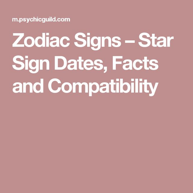 Star sign dates in Perth