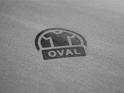 [Logo] Oval - Tshirt Company by Adil Siddiqui #branding #logo #vector #tshirt