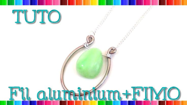 53 best tuto fil aluminium images on pinterest fimo - Tuto bijoux pate fimo et fil aluminium ...