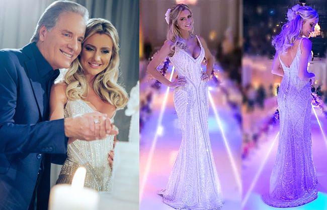 Roberto Justus e Ana Paula Siebert se casam em São Paulo vestido de noiva de luxo luxuoso estilista  Samuel Cirnansck | http://modaefeminices.com.br/2015/05/01/roberto-justus-e-ana-paula-siebert-se-casam-em-sao-paulo/
