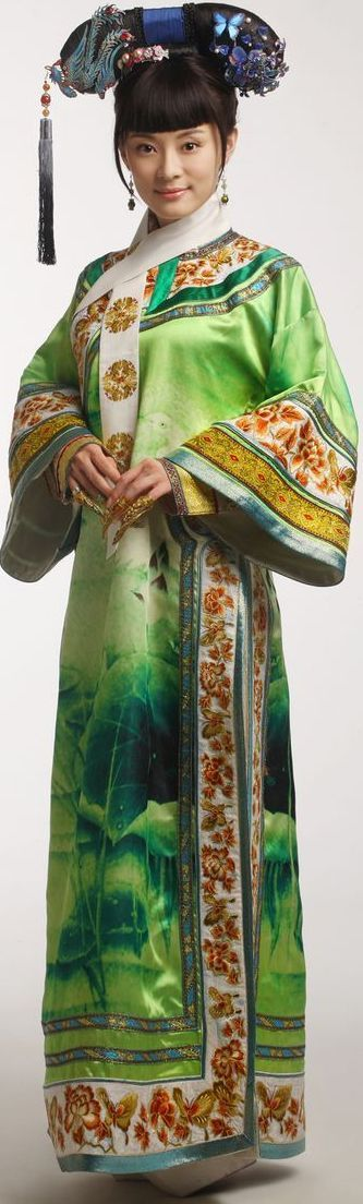 Ancient Chinese Costumes Qing dynasty