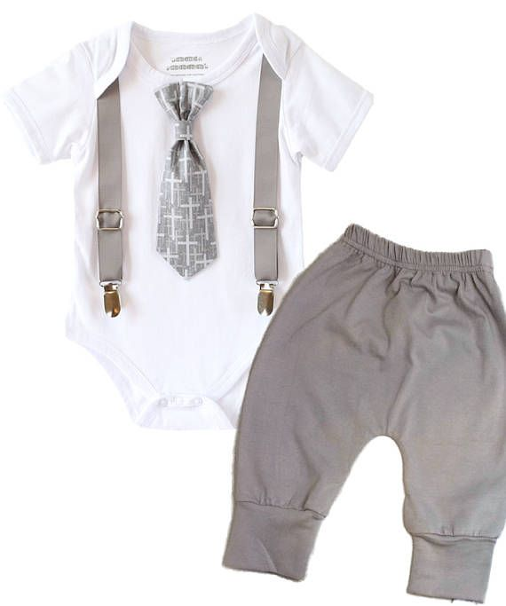 Baptism Outfits for Boys Baby Boy Baptism Outfit Cross Tie