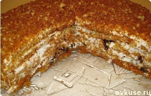 """Медовый торт """"Особенный"""". Самый вкусный на свете медовик"""