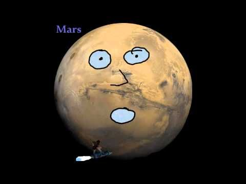 Great video for learning the planets! Funny, too! We've watched it several times and Isabelle now knows all the planets in order (me too!)