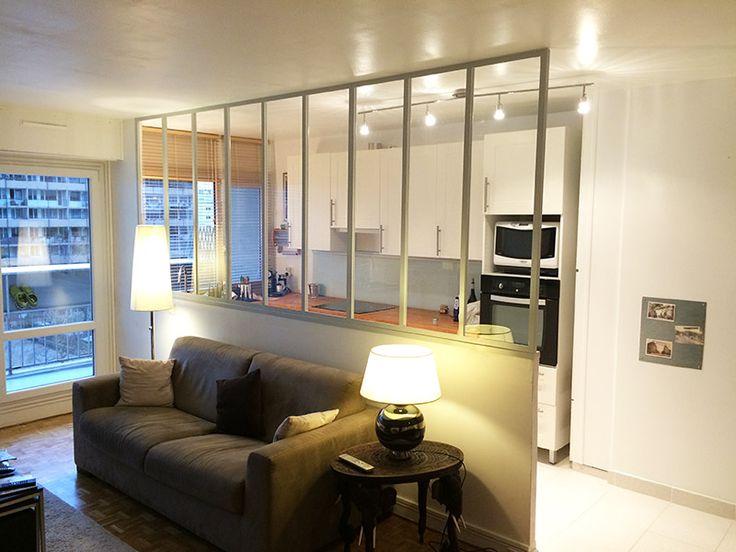 cloison cuisine salon wi18 jornalagora. Black Bedroom Furniture Sets. Home Design Ideas