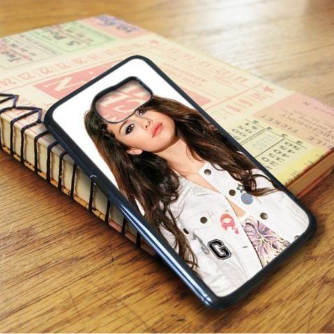 Selena Gomez Casual Style Samsung Galaxy S7 Edge Case