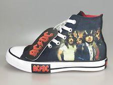 Converse AC DC Band Chucks BLACK limited