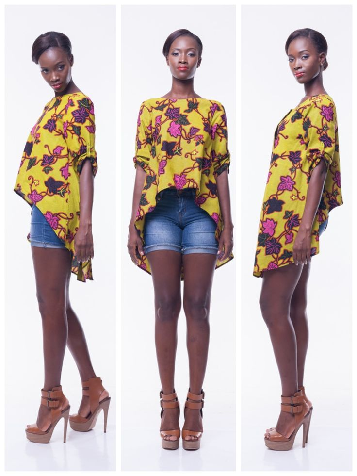 106 Best Ankara And Lace Tops Images On Pinterest