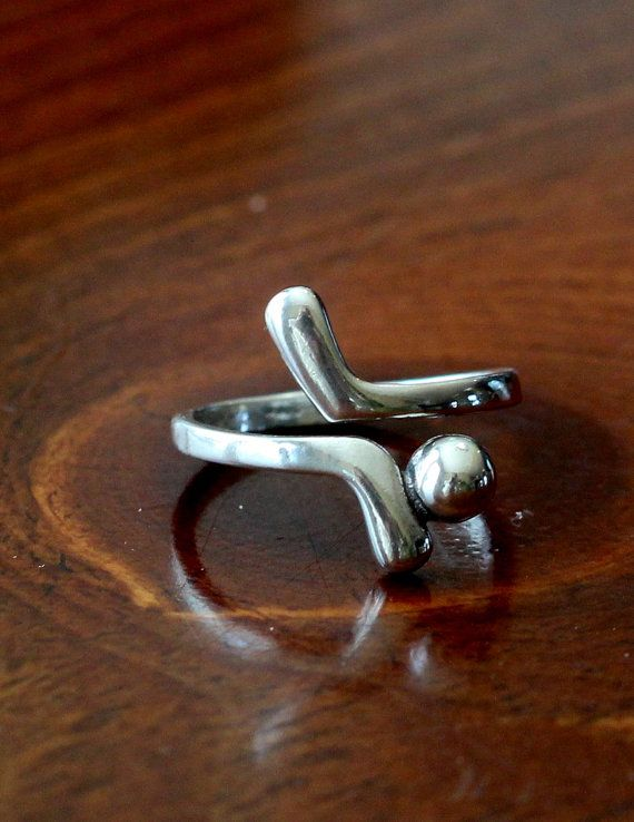 Golf Ring, Golf Jewelry, Golf Clubs Golf Ball Ring on Etsy, $35.00