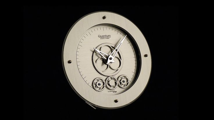 Zegar Quantum 405 M (Metal) - Incantesimo Design - DECO Salon #wallclock #clock #giftidea