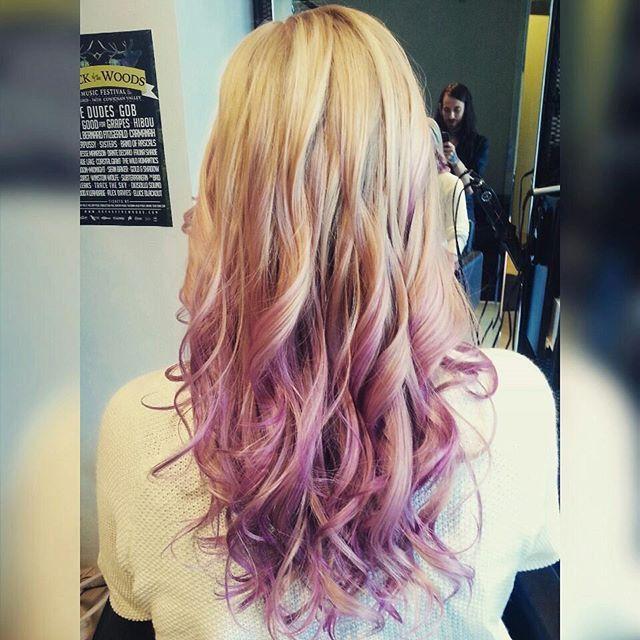 pastel hair purple on Instagram