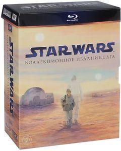 Star Wars: The Complete Saga Blu-ray Guerre stellari HVĚZDNÉ VÁLKY Region free