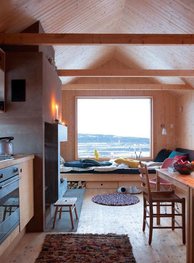 Innredning til kjøkken: varm minimalisme: enkel og funksjonell ...