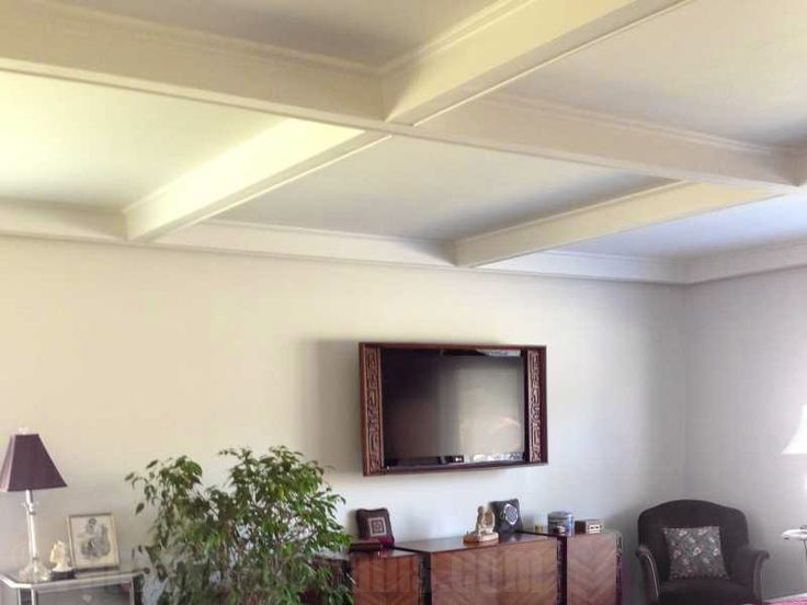 Coffered ceiling system foam faux accent pieces for Foam coffered ceiling