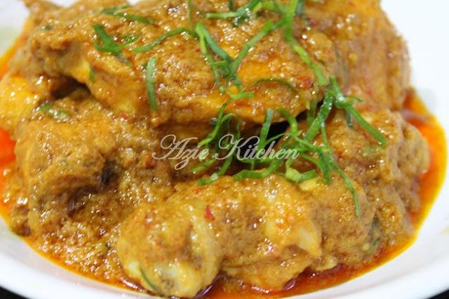 Rendang Ayam Sebagai Lauk Nasi Lemak Cooking Recipes Recipes Food
