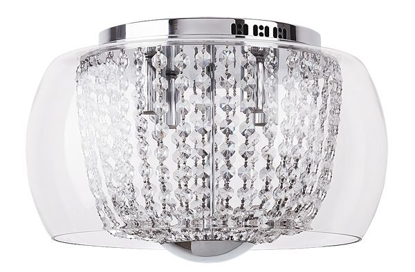 SAMANTHA Rábalux - stropné svietidlo - krištáľ-sklo-kov