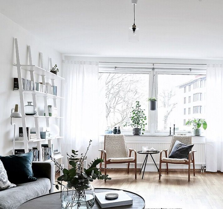 Libra shelf and Laminett made by Swedese. Picture Stadshem